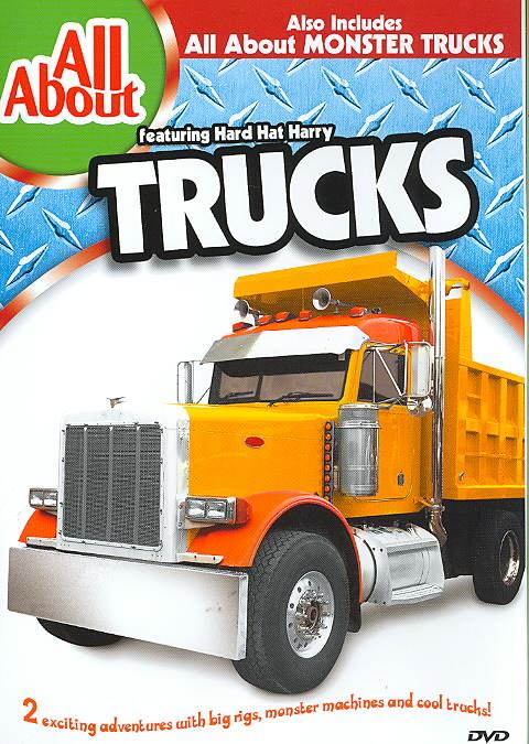 ALL ABOUT TRUCKS & MONSTER TRUCKS (DVD)
